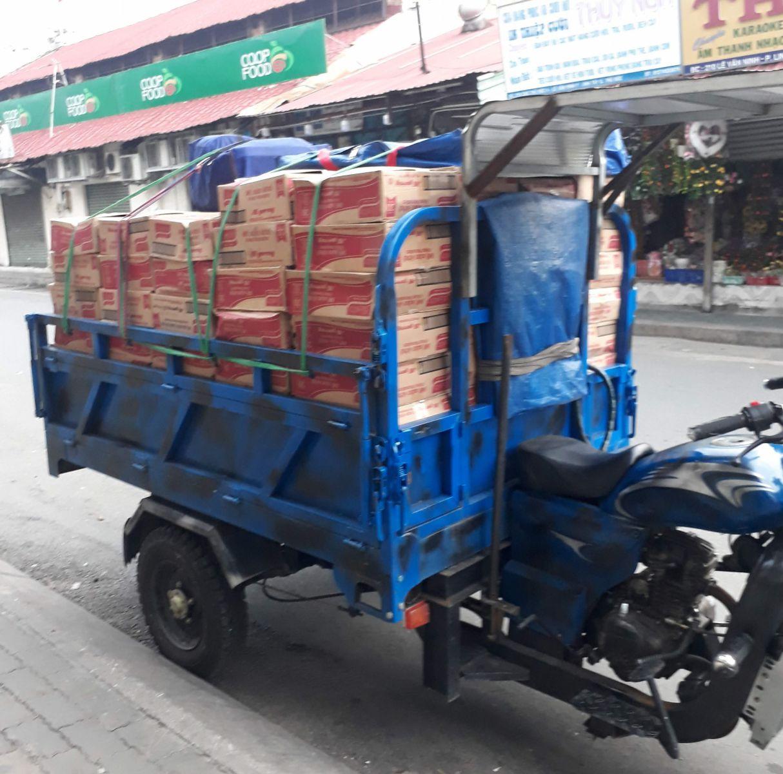 ba gác chở hàng giá rẻ Tân Bình